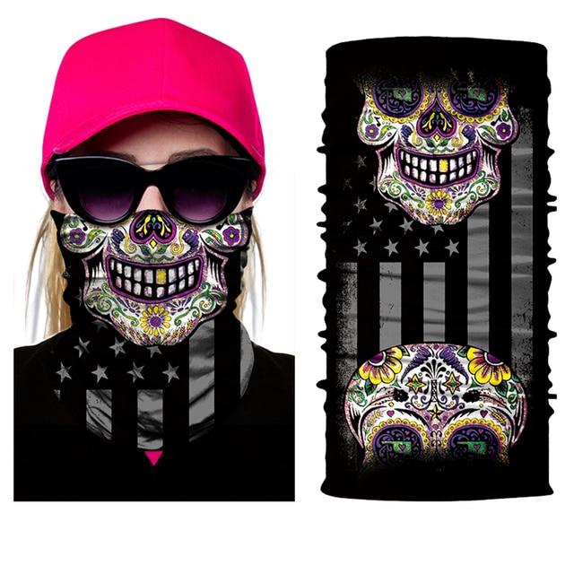 JAER Motorcycle 3D Orcs Clown Balaclava Joker V for Vendetta Mask Moto UV Protection Hat Helmet Liner Biker Face Shield 3
