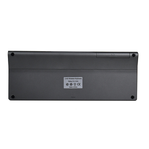 Image 2 - Zienstar אלחוטי מיני מקלדת עם Touchpad וnumpad עבור Windows PC, מחשב נייד, Ios כרית, חכם טלוויזיה, HTPC IPTV, אנדרואיד תיבה