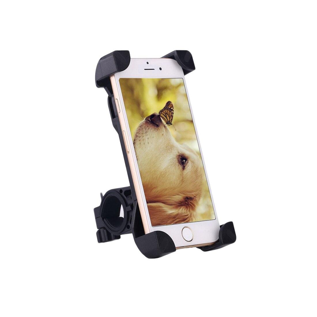 Soporte de teléfono de bicicleta ajustable Universal soporte de bicicleta para iPhone Samsung teléfono celular