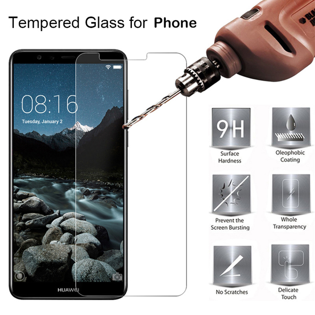 Protective Glass For Alcatel 1C 1X 3C Tempered Glass For Alcatel 3v 3X 5 A5 A3 XL Screen Protector 5009A 5026D 5099D 5058Y OT508