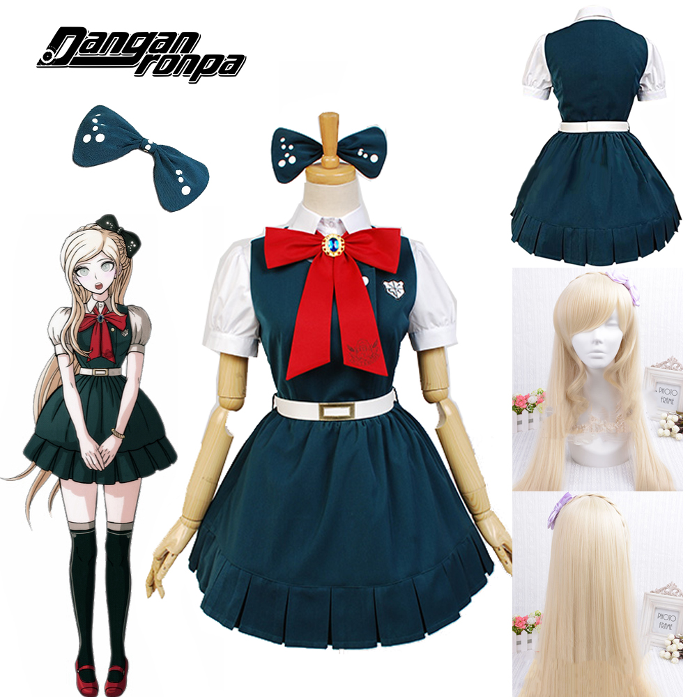 Danganronpa The End Of Anime Cartoon Cos Sayonara Zetsubo Gakuen Sonia Nevermind Cosplay Woman Japanese Lolita Halloween Dress