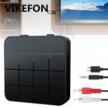 Receptor y transmisor estéreo de Audio para coche y TV, 3,5mm, 3,5, AUX, RCA, Bluetooth 5,0, adaptador de Audio inalámbrico para música