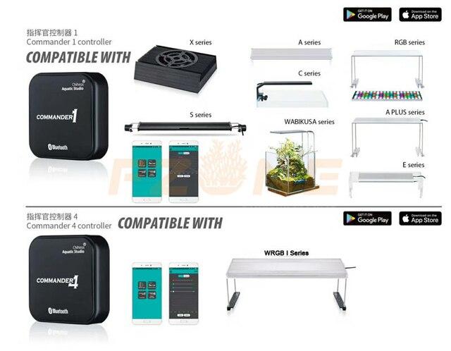 Chihiros Smart LED controller stufenlos variable dimmer sunrise sunset kompatibel Chihiros EINE serie RGB plus C LED dimmer timer