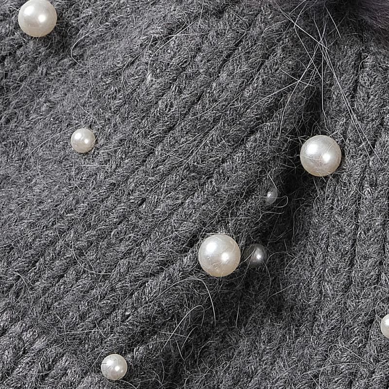 Купить высококачественная шапка из натурального меха толстая теплая