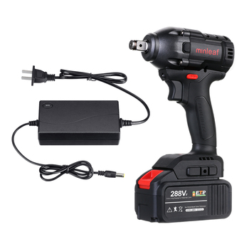 ML-EW1 288VF 380N.m Brushless Impact Wrench Li-ion Battery Cordless Rechargeable Electric Wrench Power Tool