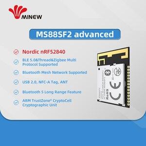 Image 5 - 5 قطعة الشمال Bluettooth شبكة nRF52840 بليه 5.0 فائقة طويلة المدى الإرسال MS88SF21 وحدة