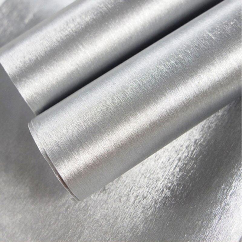 Premium matowy chrom srebrny szczotkowana folia winylowa folia do zawijania samochodu arkusz naklejki rower silnik komputer skórka na laptopa okładka telefonu