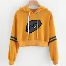 2019 Riverdale Surrounding Hooded Sweatshirt women Brand Lumbar belly Hoodie Sports fitness clothes womens trend tops(China)