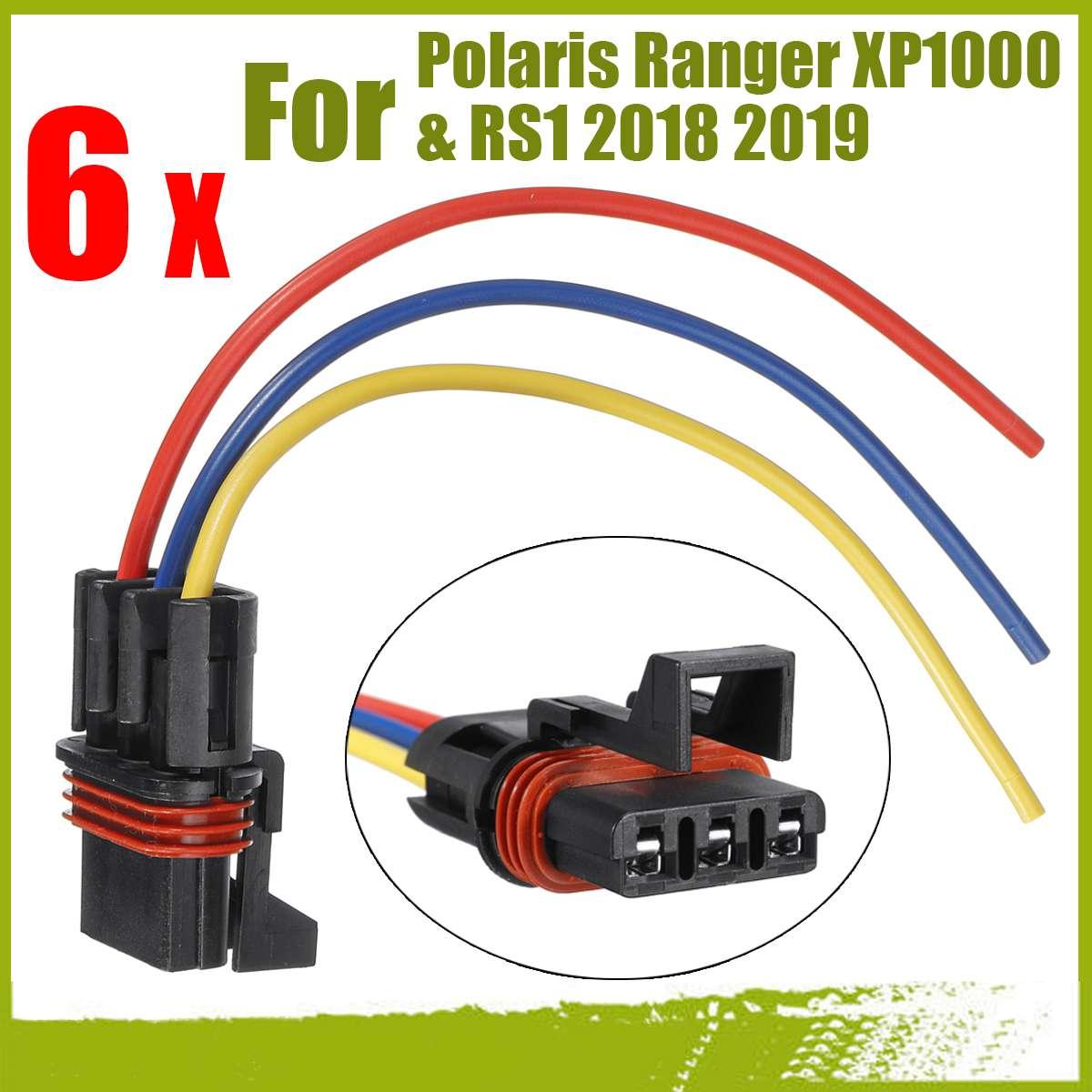 Pulse Bar Power Plug Bus Connector Pigtail For 2018 Polaris Crew//XP 1000 EPS
