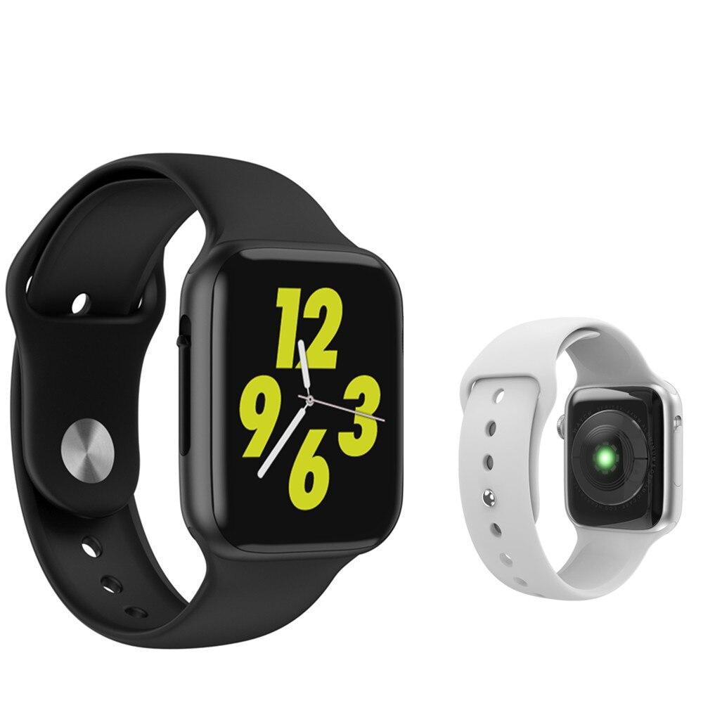 Relógio Inteligente iwo W34 8 Além de ecg/ppg Monitor de Freqüência Cardíaca SmartWatch mulheres/homens Pulseira de Relógio Inteligente PK b57 iwo9 Banda Rastreador De Fitness