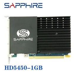 사파이어 HD 5450 1GB 그래픽 카드 GPU AMD 5400 GPU 데스크탑 그래픽 비디오 카드 Radeon HD 5450 1GB GDDR3 중고