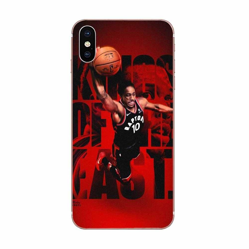 ソフト Tpu 販売バスケットボール Demar Derozan ため A3 A5 A7 A8 A9 A9S On5 On7 プラスプロスター 2015 2016 2017 2018