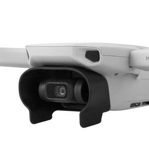 Image 2 - Легкая Антибликовая бленда объектива для DJI Mavic Mini Drone Gimbal Camera Защитная крышка быстросъемный объектив Защита от солнца
