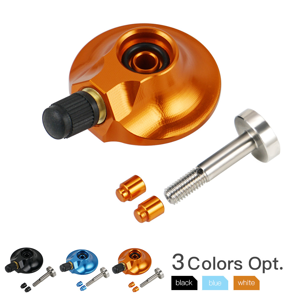 WP suspensión trasera de la válvula de Gas de 58 mm para KTM 85 125 de 150, 250 SX SXF EXC XC-F XCW XCF-W XCW Husqvarna TC FC TE nitrógeno de llenado de Gas