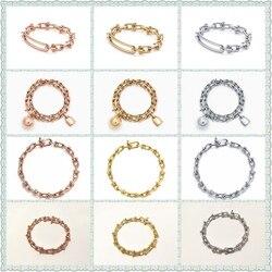 SHINETUNG 100% S925 u-образный модный браслет для женщин с логотипом в европейском и американском стиле, оригинальные ювелирные изделия