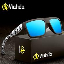 Viahda 2020 новые брендовые квадратные крутые поляризованные солнцезащитные очки для путешествий мужские солнцезащитные очки Lunette De соли Gafas