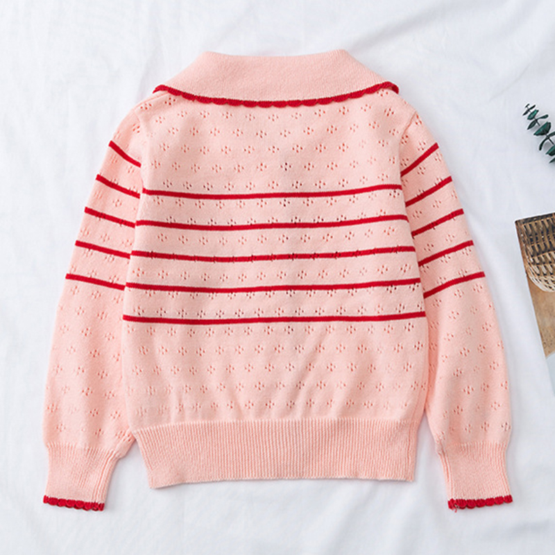 2020 New Autumn Lovely Cotton Sweater Cardigan Top Children's Clothing Baby Girls Knitted Cardigan Sweater Kids Spring Wear 2