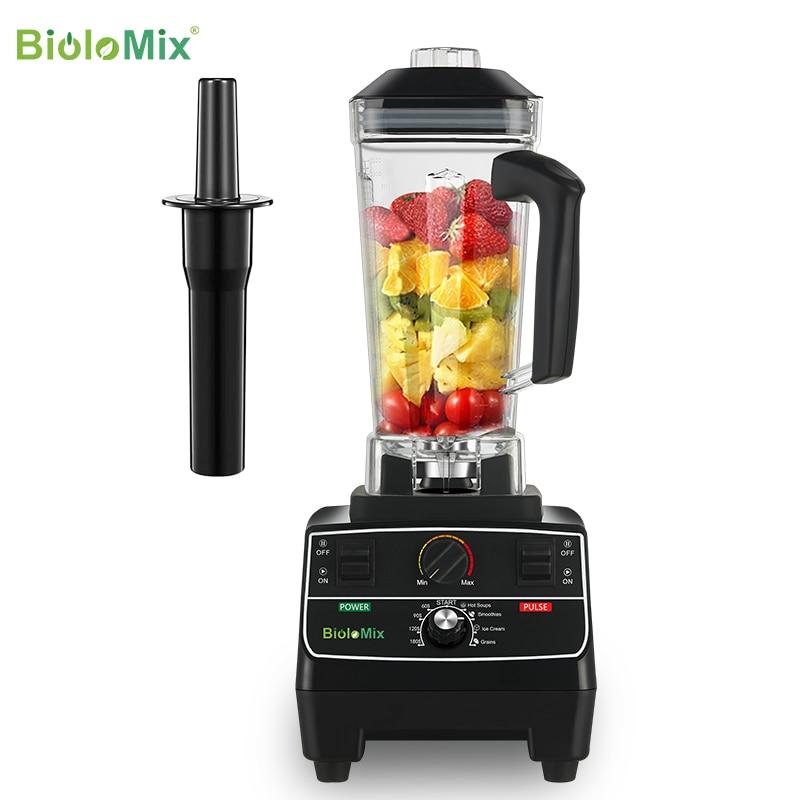 BPA Free 2L Jar 2200W Professional Smart Timer Pre-programed Blender Mixer Juicer Food Processor Ice Smoothies Crusher