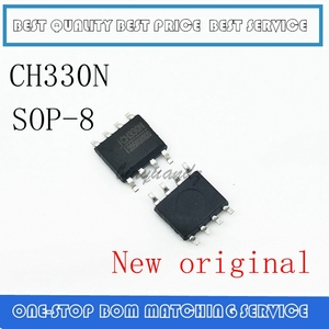 Image 1 - 10 sztuk 50 sztuk CH330 CH330N SOP 8 nowy oryginalny układ portu szeregowego USB