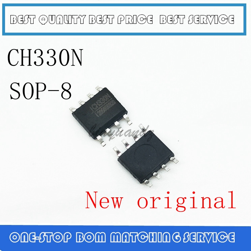10PCS-50PCS  CH330 CH330N SOP-8 New Original  USB Serial Port Chip