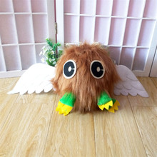 1pc Anime Cartoon Yu-Gi-Oh Duel Monsters Winged Kuriboh Plush Doll Toy Monster Card Cosplay Prop Halloween Decoration Gifts(China)