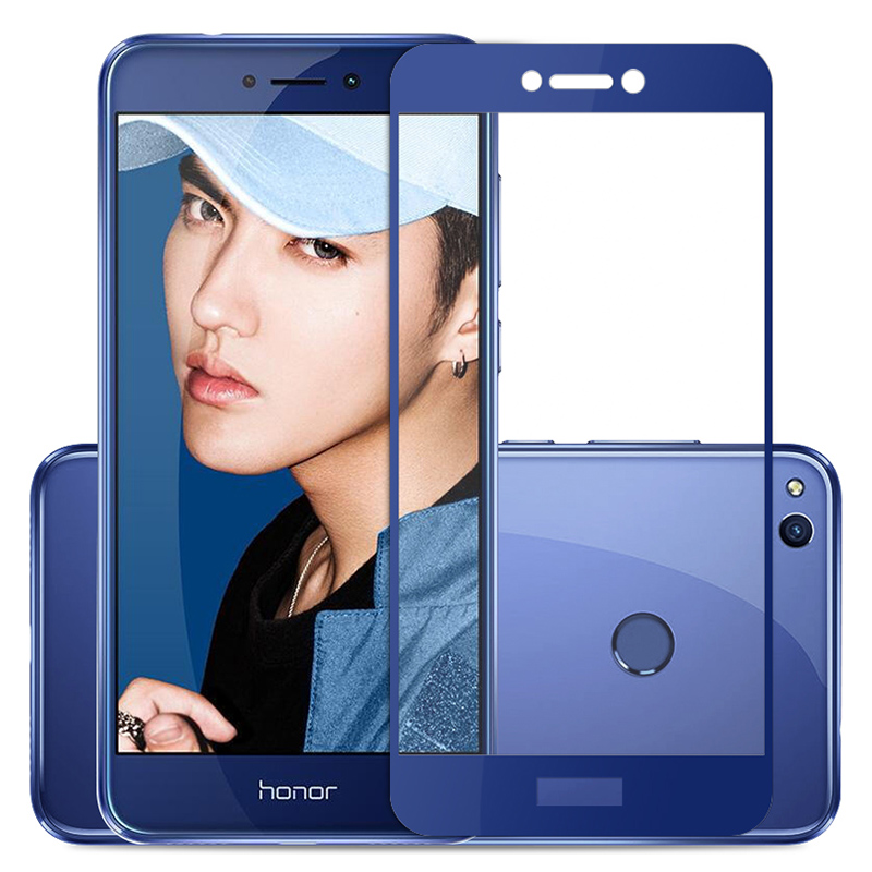 Protective Glass For Huawei Honor 8 Lite Light Original Full Cover Screen Protector Film On Honor 8 Lite 8lite Tempered Glass