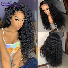 Curly 13X6 Lace Front Human Hair Wigs With Baby Hair Brazilian Remy Hair Curly Wigs For Women Pre Plucked Wig Dream Beauty