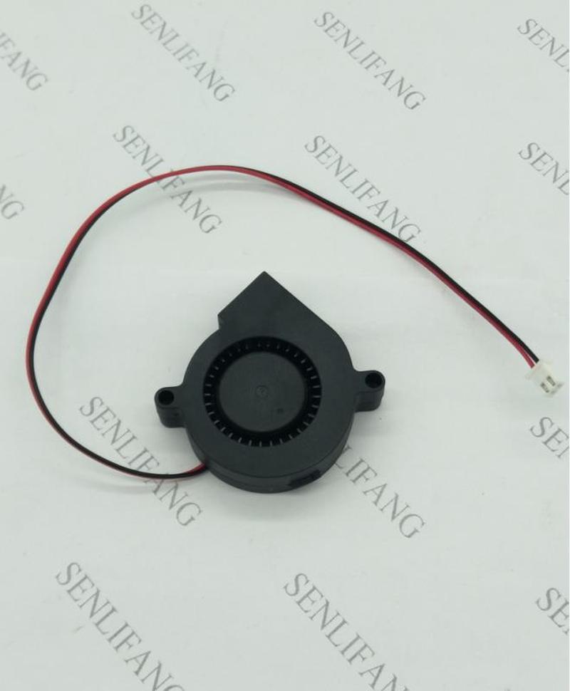 For EverCool EC5015M12S DC 12V 0.15A 50x50x15mm 2-Wire Server Cooler Fan Free Shipping