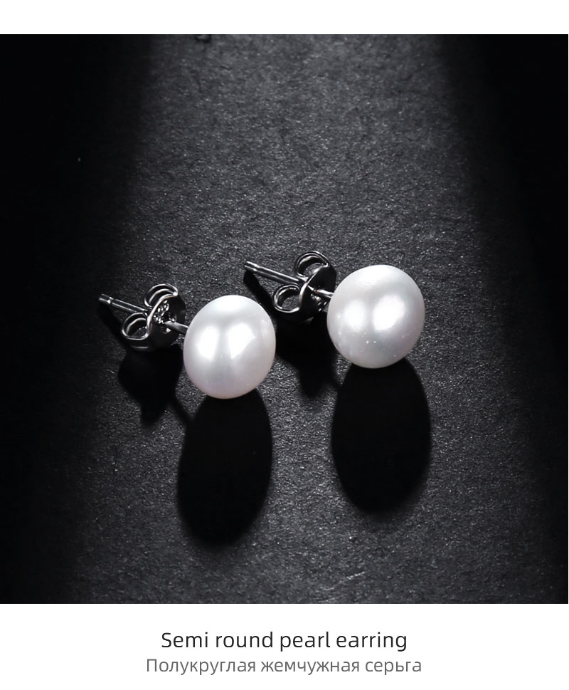 H0b52b9da6ed441cbb7970bd9ef5037c2B NYMPH FreshWater Pearl Jewelry Set For Women Natural Baroque White Stone Beads Choker Necklace Earrings Bracelet Party [T207]
