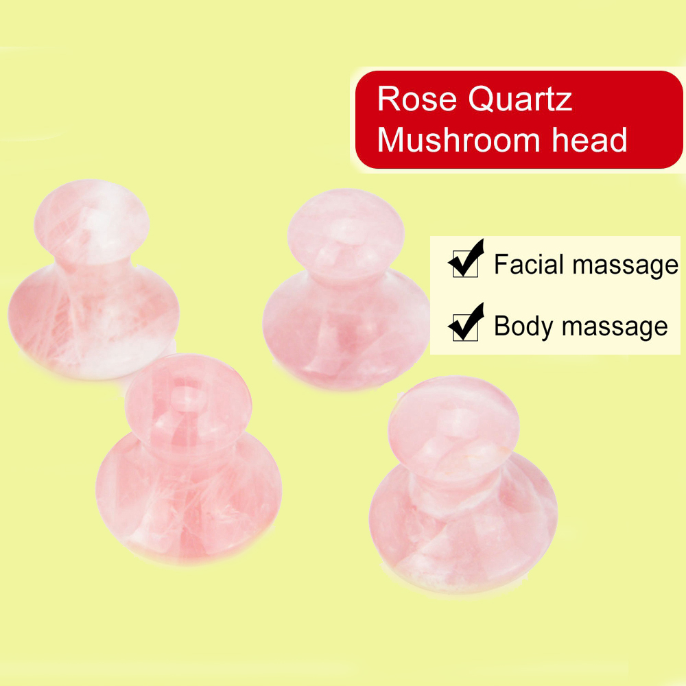 Face Lift Tools Jade Roller Face Arms Neck Massage Roller Face Body SPA Massage Rose Quartz Roller