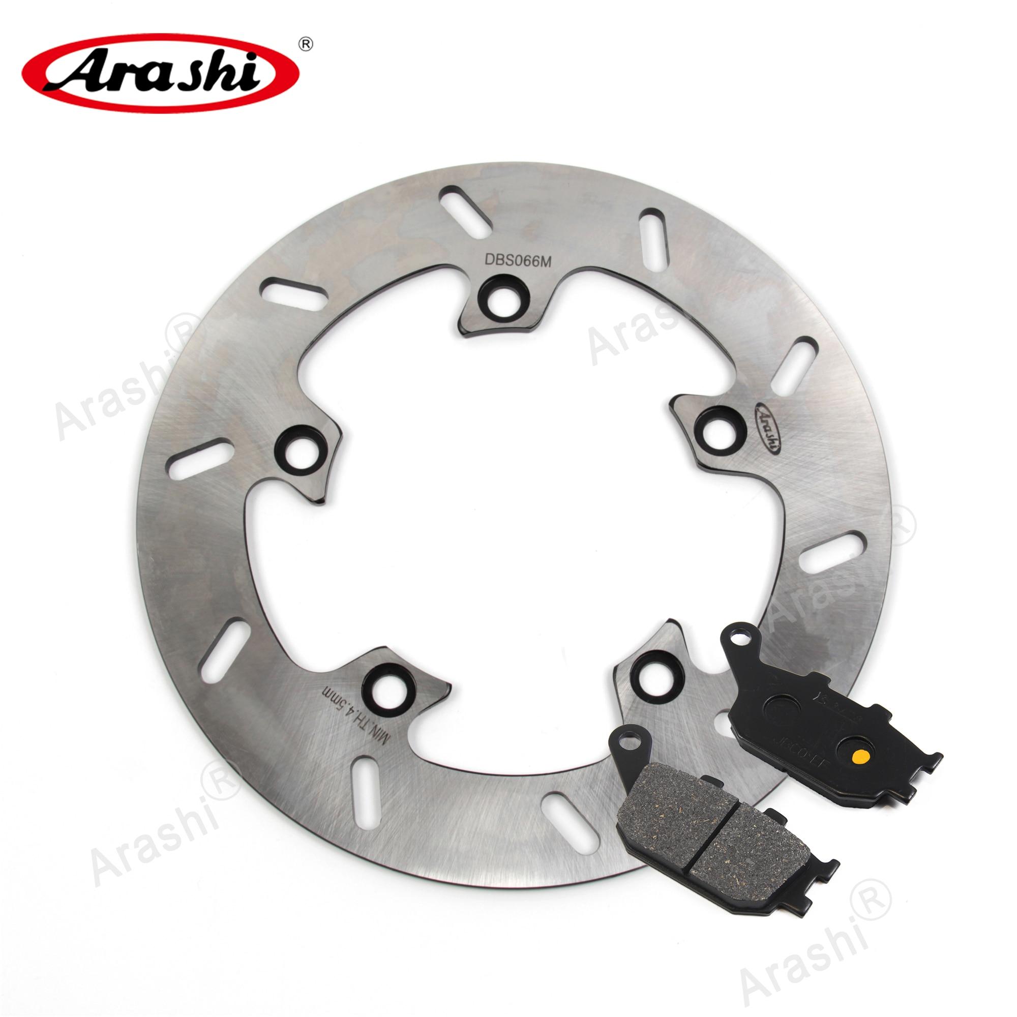 ARASHI Rear Brake Disc Brake Pads For SUZUKI GSR 750 2011 2012 2013 2014 GSR750 CNC Rotor Disk Rear Pads Motorcycle Brake Pad