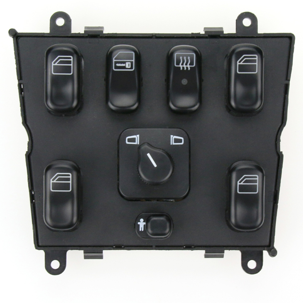 High Quality New 1638202410 Electric Power Window lifter Master Control Switch <font><b>For</b></font> Mercedes-Benz ML320 ML230 <font><b>ML430</b></font> ML270 image