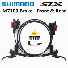 Disc-Brake Brake-Mountain-Bikes MTB DEORE Slx M7000 M7100 SHIMANO Hidraulic Left Right