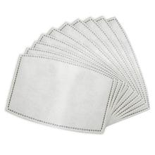 10pcs Face Mask 5 Layer Filter Insert Non woven Fabric Mouth Mask Filter