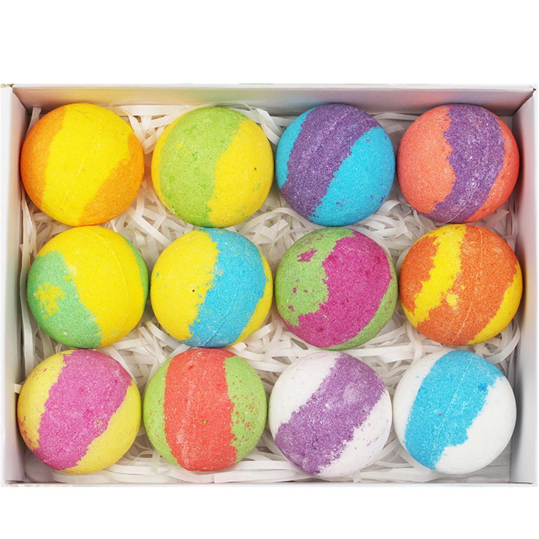 Bath Bombs Gift Set Moisturizing Essential Used To Enhance Your Bath Time Experience. Oil SPA Relax Round Tool