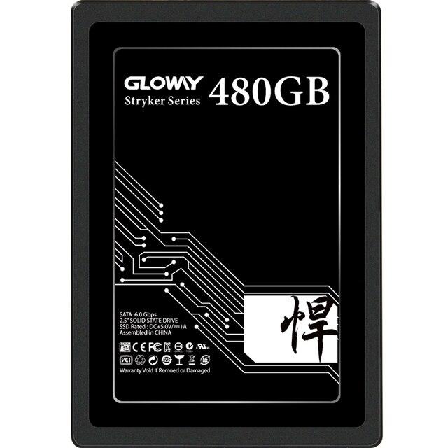 Gloway 2.5 inchSATA3 SSD 480gb 1tb 1.5tb 2tb hdd 2.5 הפנימי לשולחן עבודה מחשב נייד מחשב ביצועים גבוהים