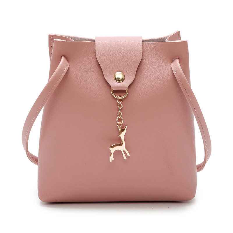 Casual Ladies Shoulder Bag Designer Bag Mini Deer Messenger Bags Light Practical Handbags Small Black Ladies Bags Small Handbags
