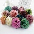 2/10 шт., декоративные цветы розы в стиле ретро