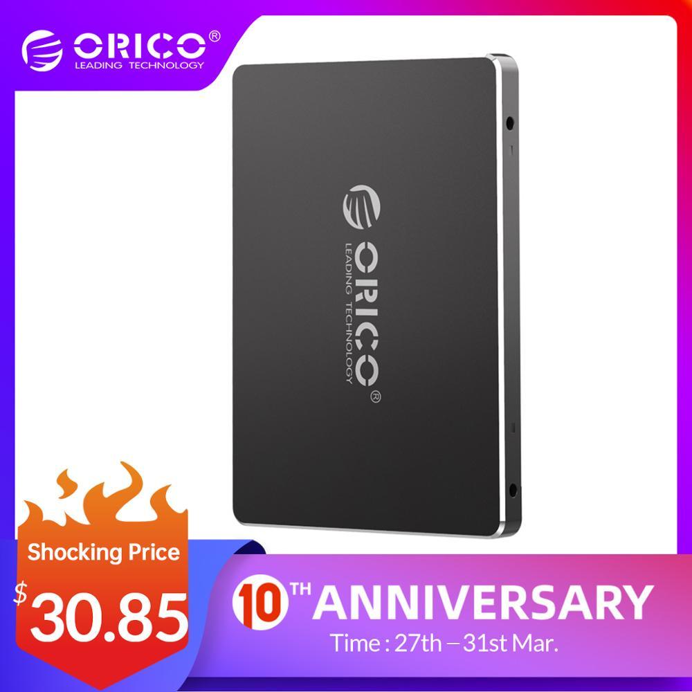 ORICO SSD 128GB 256GB 512GB 1TB SSD 2.5 Inch SATA SSD 1TB Internal Solid State Disk For Desktop Laptop