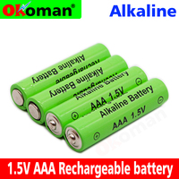 4-50pcs/lot  New AAA Battery 2100mah 1.5V Alkaline AAA rechargeable battery for Remote Control Toy light Battery free shipping