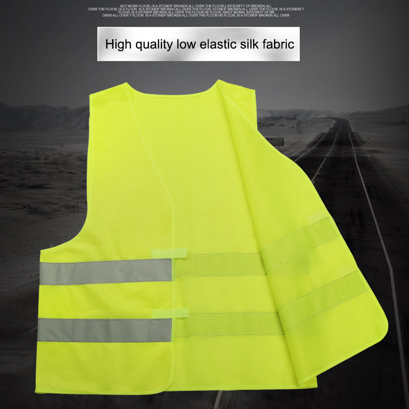 Safety Reflective Vest Security Visibility Construction Traffic Warehouse AS99