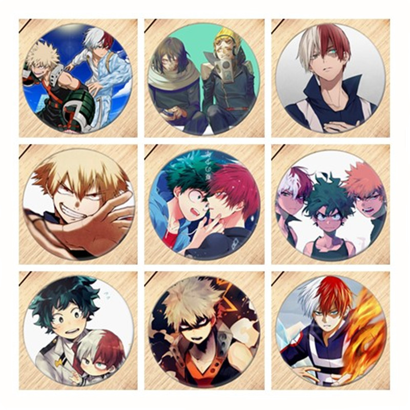 Free Shipping Anime My Hero Academia Brooch Pin Badge Accessories For Clothes Backpack Decoration B226