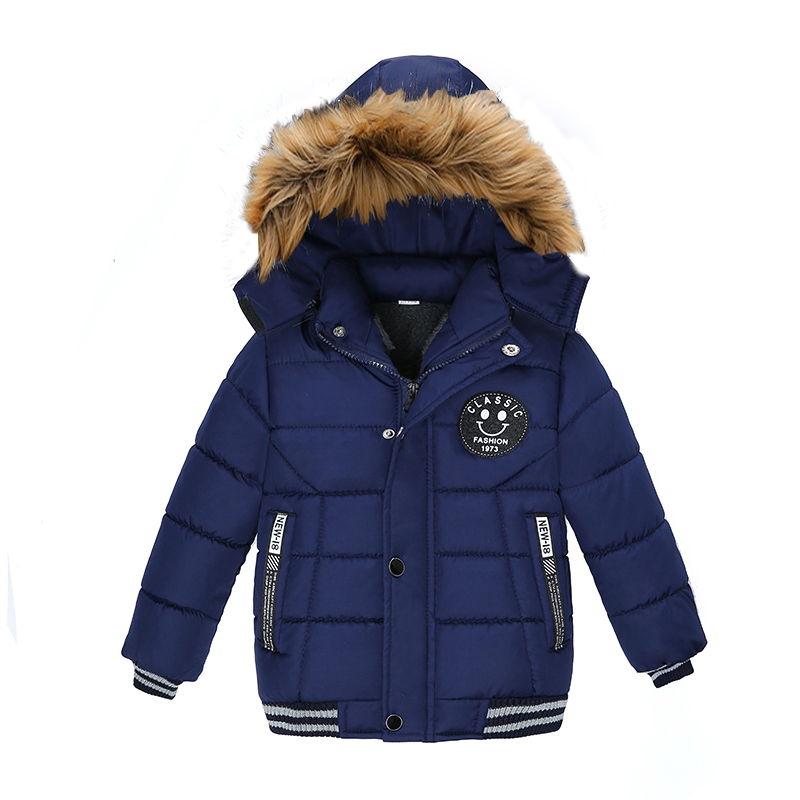 2021 NEW High Quality Winter Child Boy Down Jacket Parka Big Girl Thicking Warm Coat 2 3 4 5 6 Year Light Hooded Outerwears 5