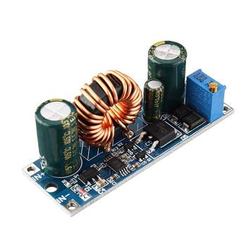 LEORY 3A 30W Step Down Buck Converter Power Supply Module DC 5.5 -30V to DC 0.5 -30V Voltage Regulator Adjustable image