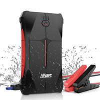 iMars 1000A Portable Car Jump Starter Emergency Charger Battery Power Bank LED Flashlight Car Booster Starting Device Waterproof