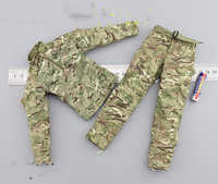1/6 armée et Marine Corps Camouflage pantalons et manteau modèles pour 12''Figures Corps accessoires