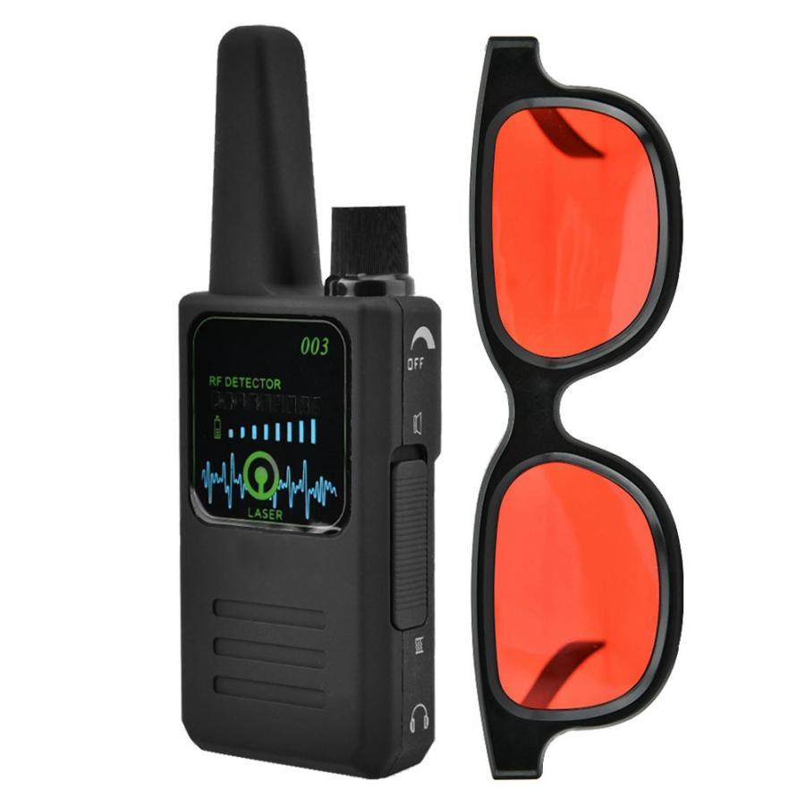 Image 4 - M003 Multi function Anti Espionage Anti tracking Camera Wireless Signal Detector with Glasses New-in Anti Candid Camera Detector from Security & Protection