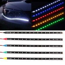 Car Moto LED Strip Light Decorative Lamp Accessories DRL For Hyundai IX35 Solaris Accent I30 Tucson Elantra Santa Fe Getz I20 So цена 2017