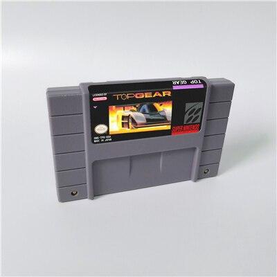 Top GearหรือTop Gear 2 เกมการกระทำUSรุ่นภาษาอังกฤษ