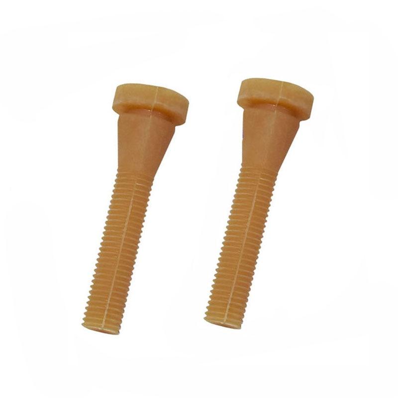 50 шт., жезл для птицы, длина перепелок 6,5 см, резиновый жезл для удаления пальцев, клей-карандаш